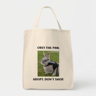 Obedeça o bolsa do mantimento da pata