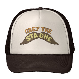 Obedeça o chapéu/boné do camionista de Stache