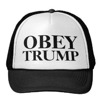 Obedeça o chapéu do trunfo boné