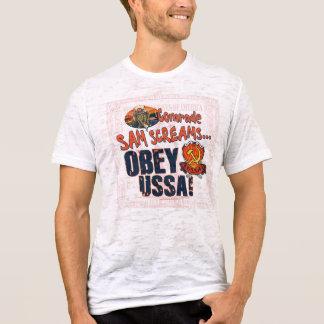 Obedeça o USSA a camisa do gritar