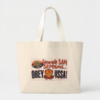 Obedeça o USSA o saco do gritar Bolsa Para Compras