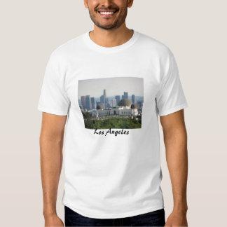 Obervatório de Griffith e centro Los Angeles T-shirts