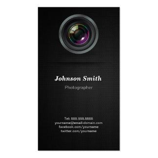 Objectiva - mostre sua melhor foto na parte cartão de visita