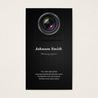 Objectiva - mostre sua melhor foto na parte cartão de visitas