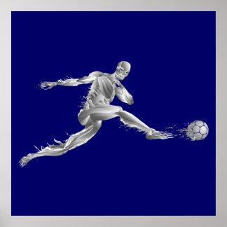 Objetivo 2014 do futebol do futebol do presente do pôster