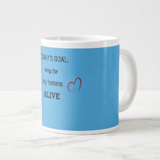Objetivo de hoje: Mantenha a caneca viva dos seres
