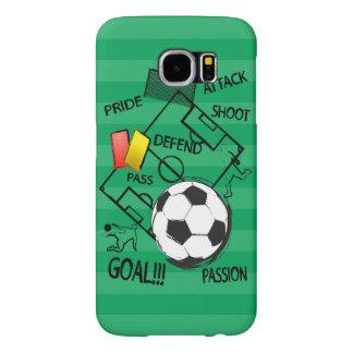 Objetivo do ataque do futebol do futebol capas samsung galaxy s6