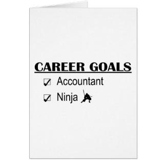 Objetivos da carreira de Ninja - contador Cartao