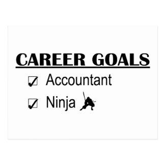 Objetivos da carreira de Ninja - contador Cartão Postal