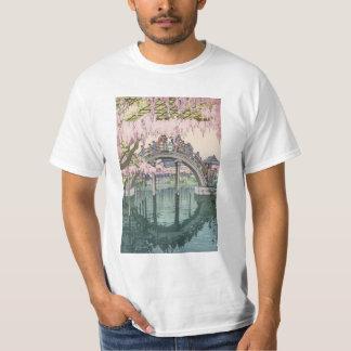 Obra-prima clássica oriental do vintage asiático camiseta