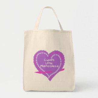 Obra-prima do Cupido do coração pouca Bolsa Para Compra