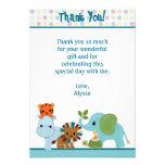 """Obrigado animal da selva da parada você 3,5"""" x5"""" A Convites Personalizado"""
