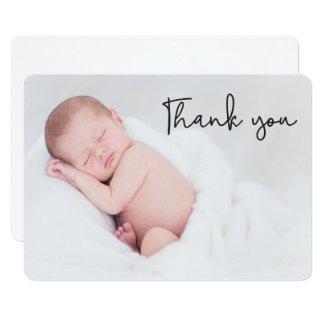 Obrigado, anúncio do nascimento do bebê, canto