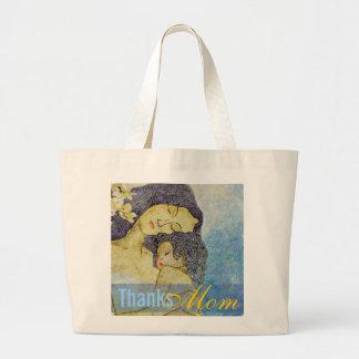 Obrigado as bolsas artísticas da mãe e da criança