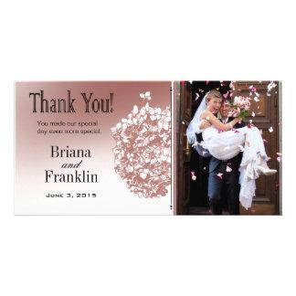 Obrigado barroco da foto de Flowerball você Cartão Com Foto