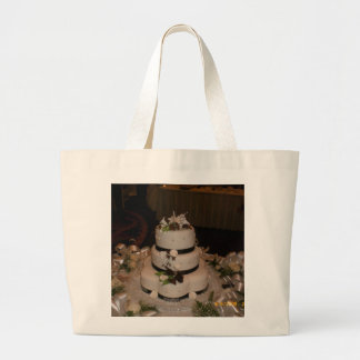 Obrigado bolo de casamento bolsas para compras