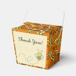 Obrigado Bumble a caixa do favor dos doces do favo