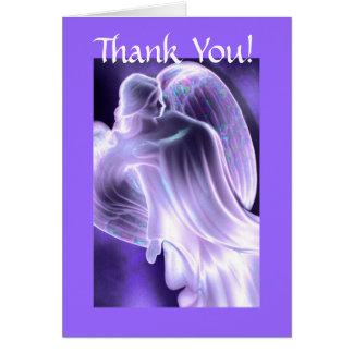 Obrigado - cartão do anjo