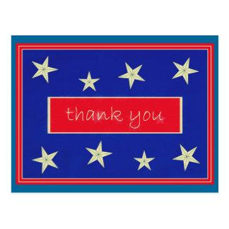Obrigado… cartão do dia de veteranos