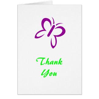 Obrigado cartões