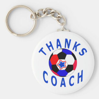 Obrigado cartões e presentes do treinador do futeb chaveiro
