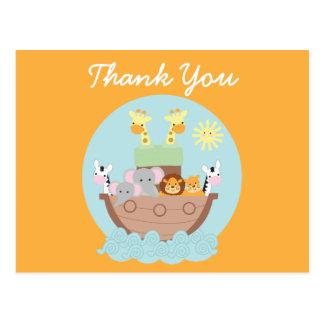 Obrigado da arca de Noah você cartão