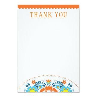 Obrigado da festa você cartão de nota convite 8.89 x 12.7cm
