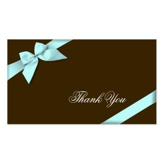 Obrigado da fita do Aqua você Minicard Modelos Cartão De Visita