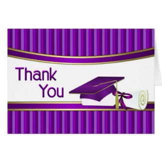 Obrigado da graduação você cartões