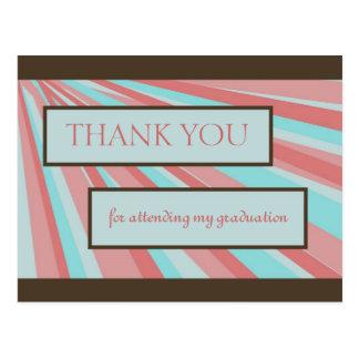 Obrigado da graduação você III Cartoes Postais