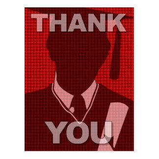 Obrigado da graduação você vestido 1 do cartão