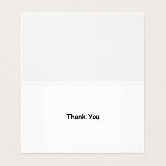 Obrigado da gratitude você cartões