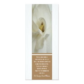 Obrigado da simpatia do Gardenia você cartão do Convite Personalizados