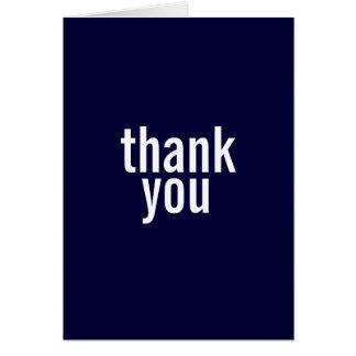 Obrigado de Mitzvah do bar você cartões {azuis