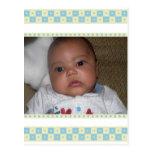 Obrigado de Snower do bebê você cartão Cartoes Postais