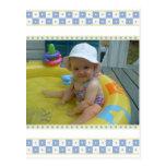 Obrigado de Snower do bebê você cartão Cartao Postal