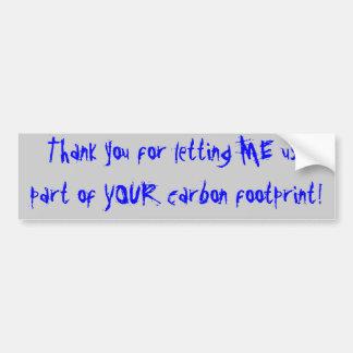 Obrigado deixando ME usar a parte de SEU carbo… Adesivo Para Carro