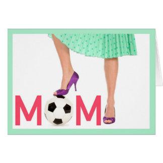 Obrigado - dia das mães - cartão da mamã da equipe