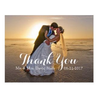 Obrigado do aniversário de casamento você cartões