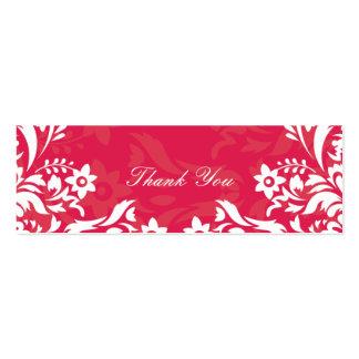 Obrigado do design No 2 você Tag do presente - FRA Cartão De Visita