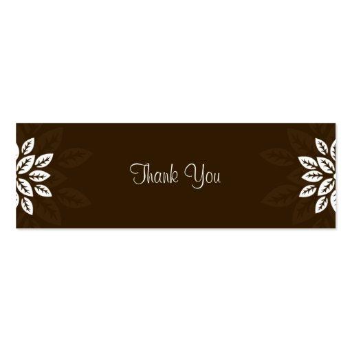 Obrigado do design No.3 você Tag do presente - CHO Modelos Cartões De Visita