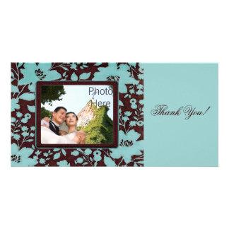 Obrigado do ~ dos cartões com fotos você inserção