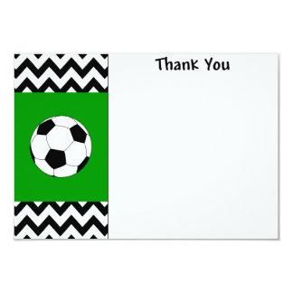 Obrigado do futebol você cartões de nota