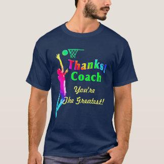 Obrigado do treinador de beisebol você camisa da