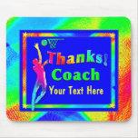 Obrigado do treinador de beisebol você Mousepad