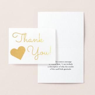 """""""Obrigado elegante você!"""" Cartão"""