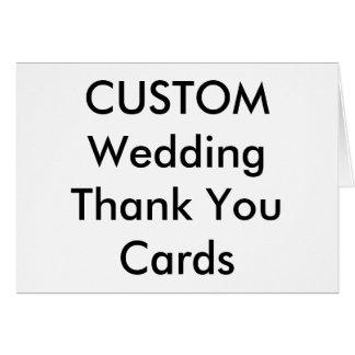 Obrigado feito sob encomenda do casamento você cartão de nota