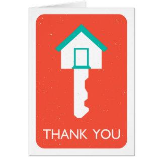 obrigado housekey cartão