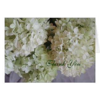 Obrigado Hydrangea Cartão