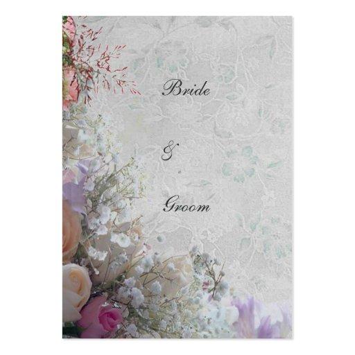 Obrigado ideal branco do casamento você cartões de visitas